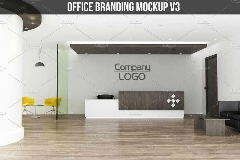 Architect Office Branding Mockup