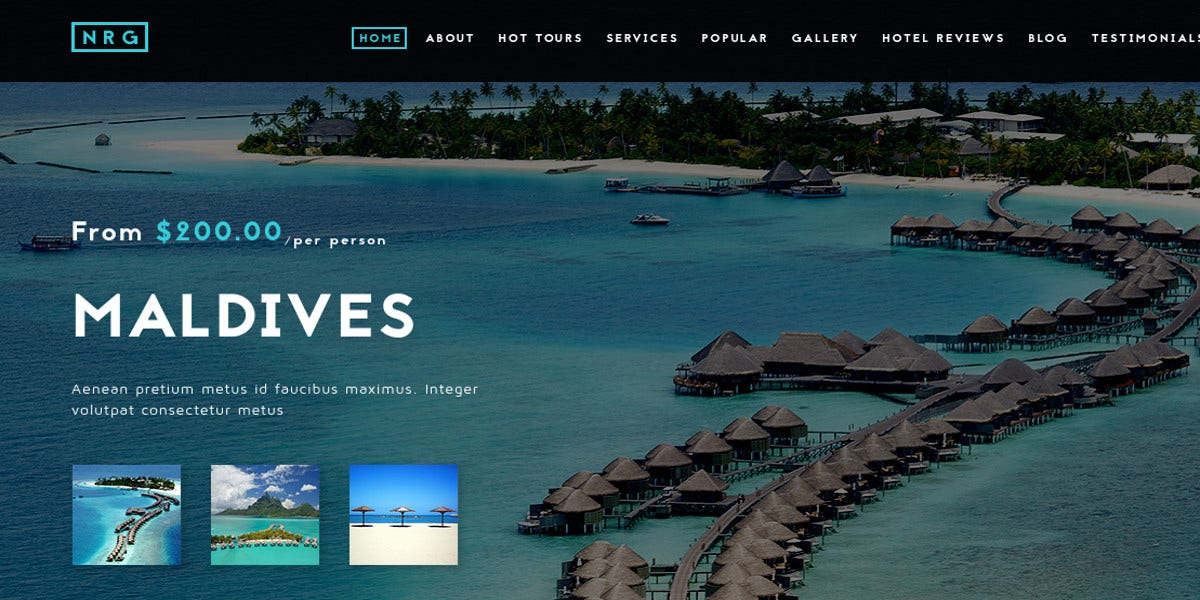 modern travel agency joomla template 48