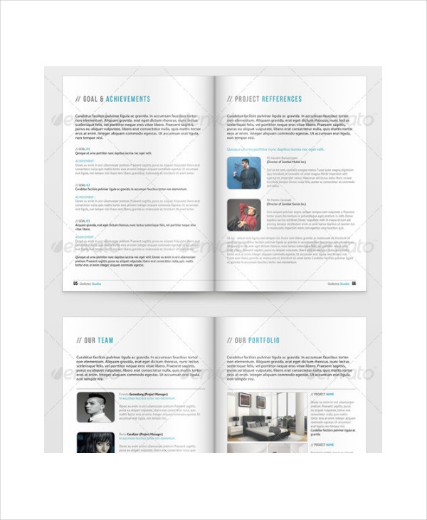 simple indesign business proposal template