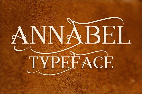 annabel font