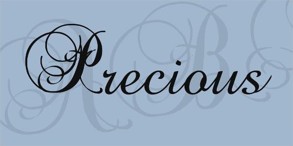 Precious Font