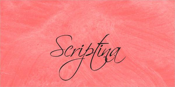 Scriptina Font Family