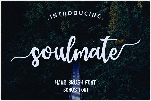 Soulmate Typeface Font