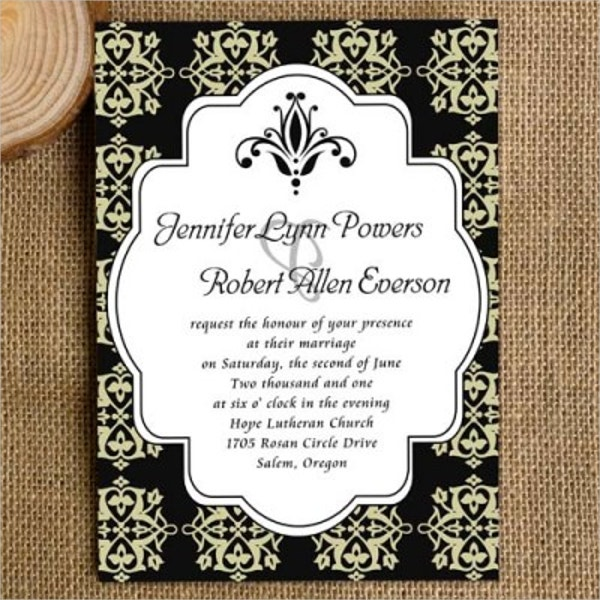 22+ Wedding Invitations | Free U0026 Premium Templates, Invitation Templates