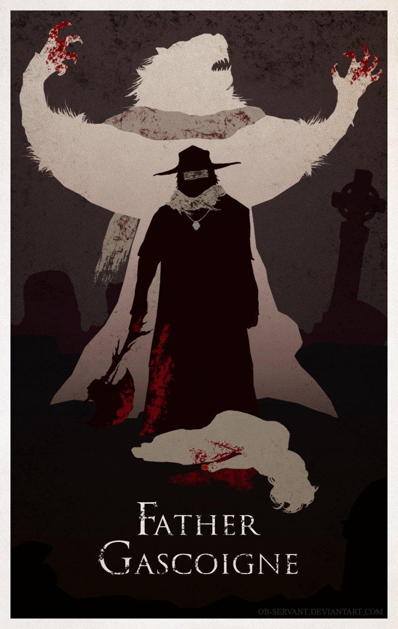 minimal poster of father gascoigne