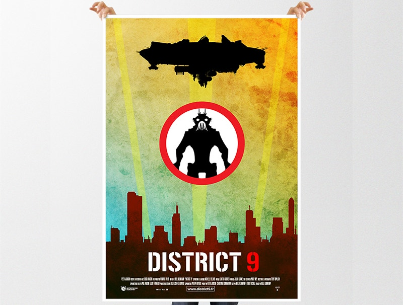 art direction minimal poster