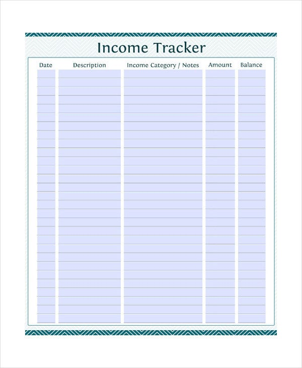 Printable Monthly Budget Template   Free Excel Pdf Documents