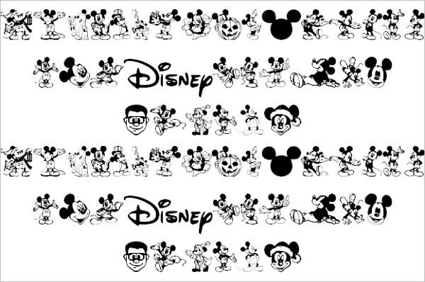 14+ Mickey Mouse Fonts - Free TTF, OTF Format Download