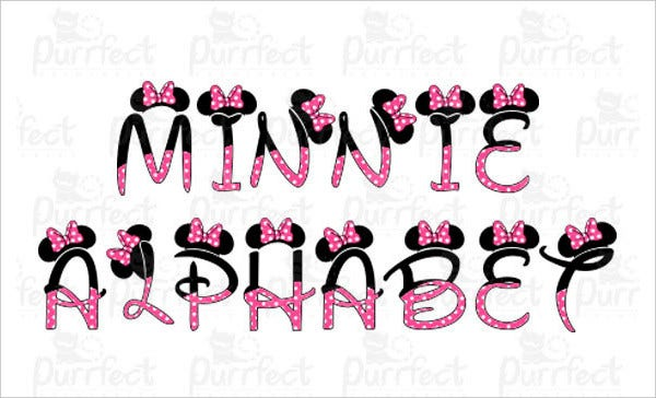 minnie mouse font 14 mickey mouse fonts free ttf otf format 6364