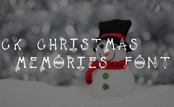 CK Christmas Memories Font