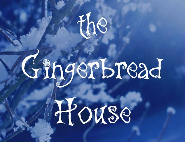 gingerbread house font