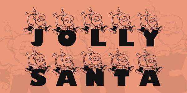 Jolly Santa Font