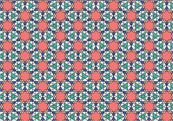 geometric moroccan pattern