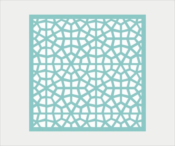 Geometric Pattern Template
