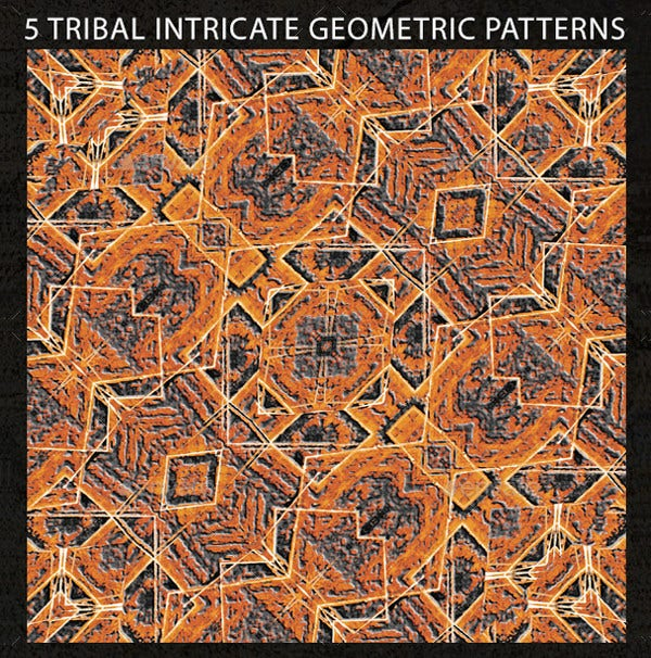 Tribal Intricate Geometric Pattern
