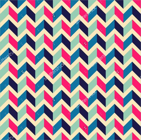 zigzag geometric pattern