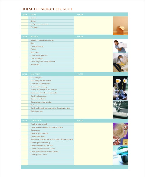 housekeeping-cleaning-checklist-template