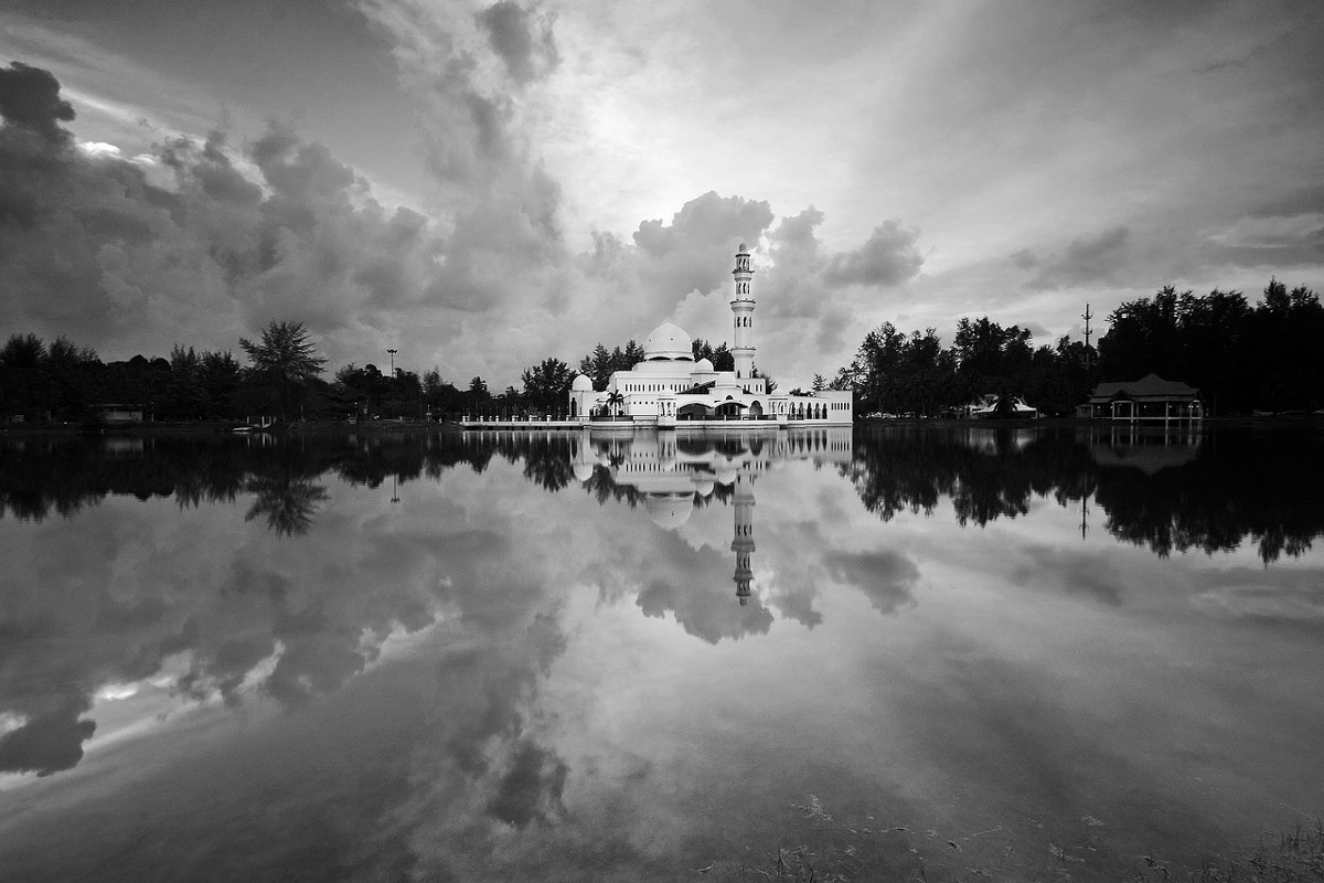 Reflective Black & White Photography