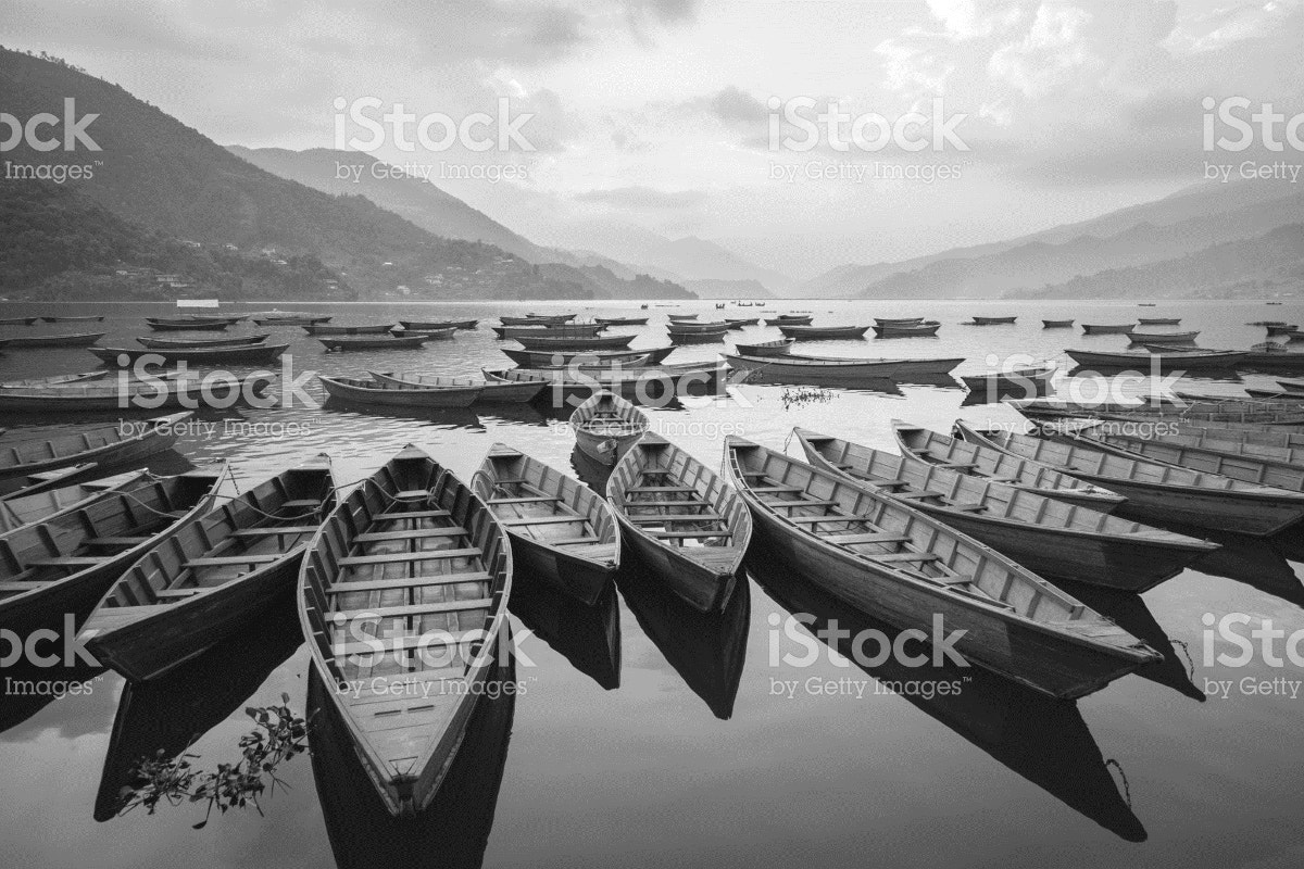 Black and White Photography of Boats
