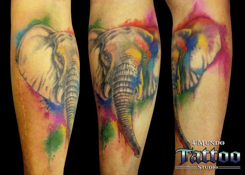 Watercolor Aquarela Tattoo