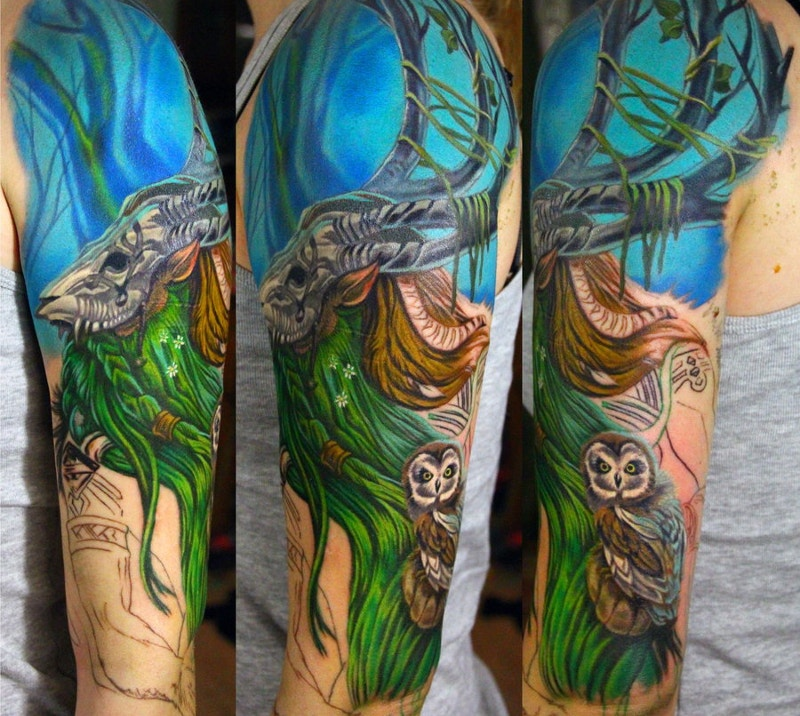 Tattoo of Warrior