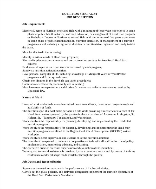 free-nutrition-specialist-job-description-in-pdf