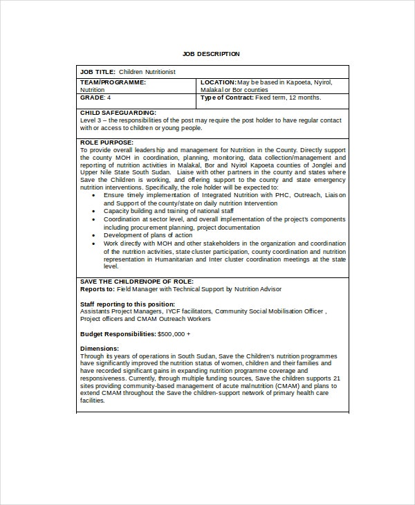 Purchasing assistant job description teller supply chain for Training officer job description template