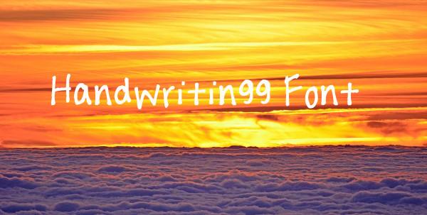 Handwritingg TTF Font