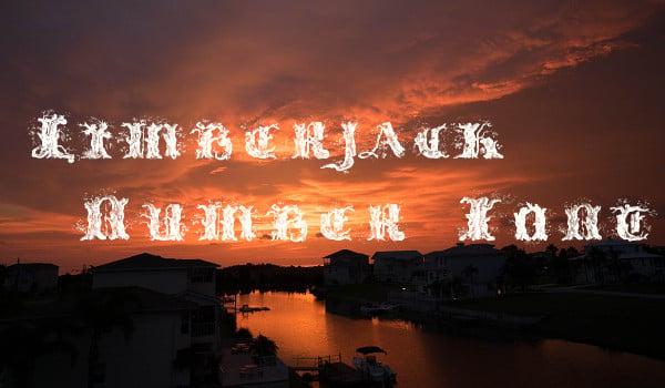 Limberjack Number TTF Font