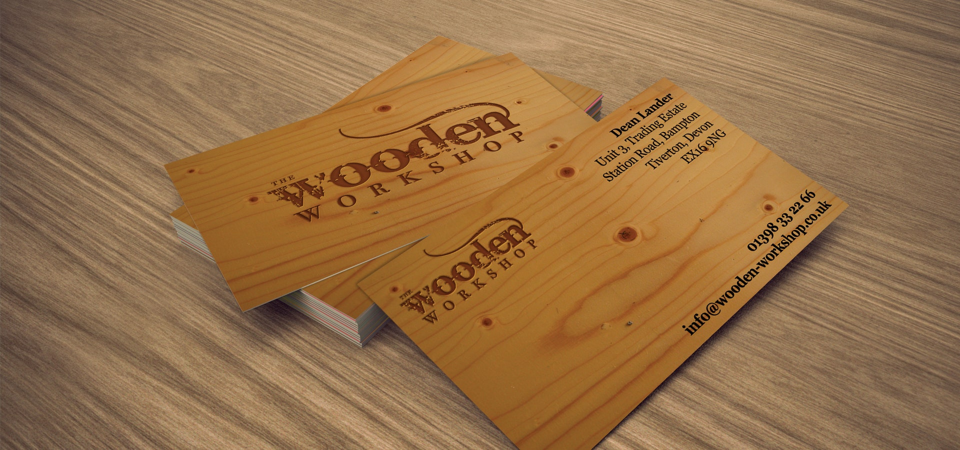 21  wooden business card templates