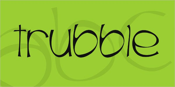 18+ Bubble Letter Fonts - Free TTF, OTF Format Download
