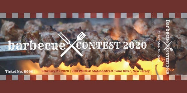 bbq-event-ticket-template