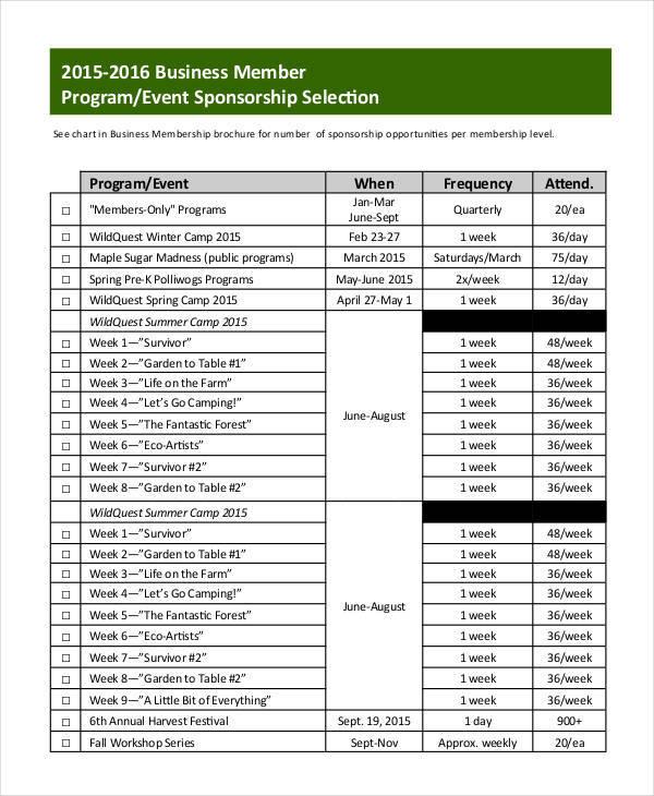 sponsorship events 2016 pdf brisbane