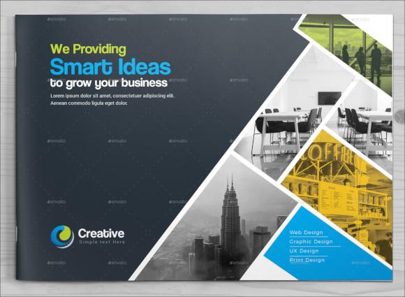 business landscape brochure template