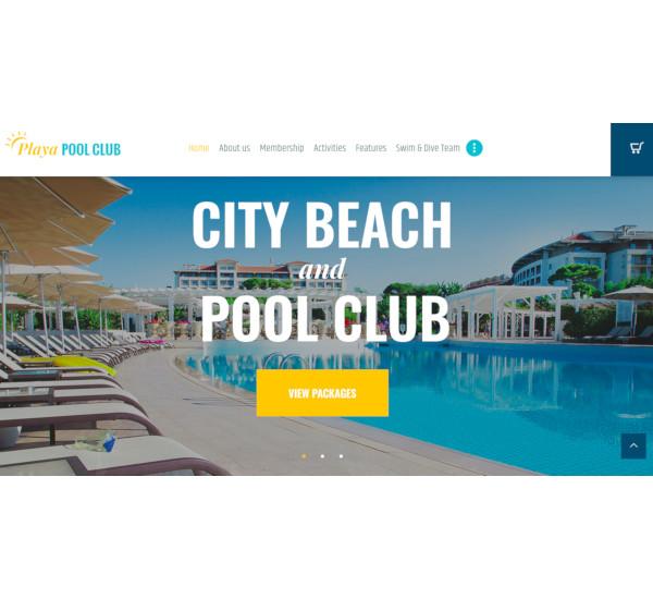 city beach wordpress theme