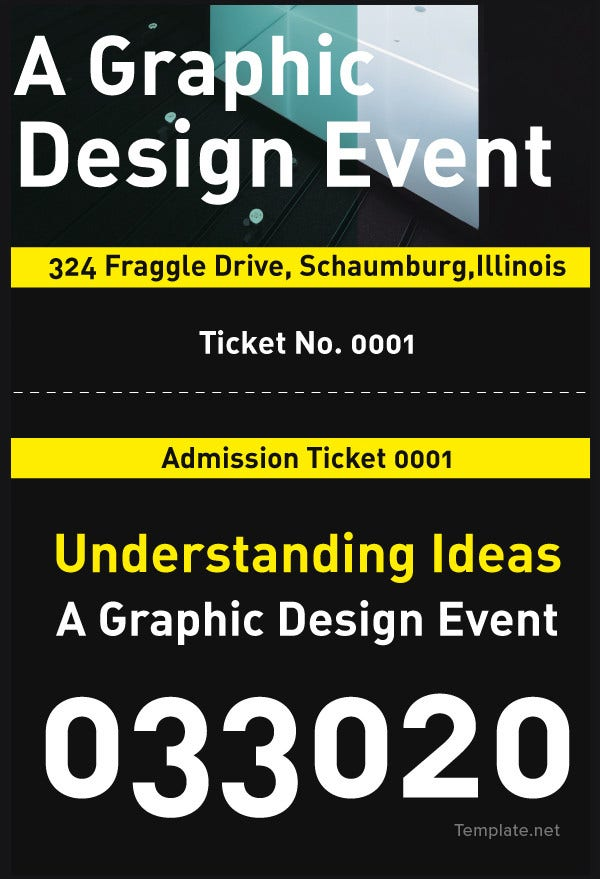 34+ Event Ticket Mockups | Free & Premium Templates