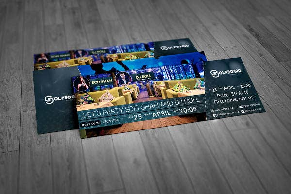 28 Event Ticket Mockups – Free Event Ticket Maker