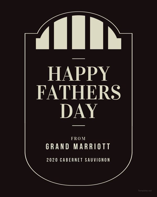 fathers-day-wine-label-template