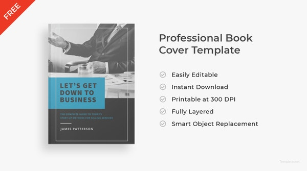 free simple professional book cover