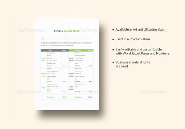 personal balance sheet template1