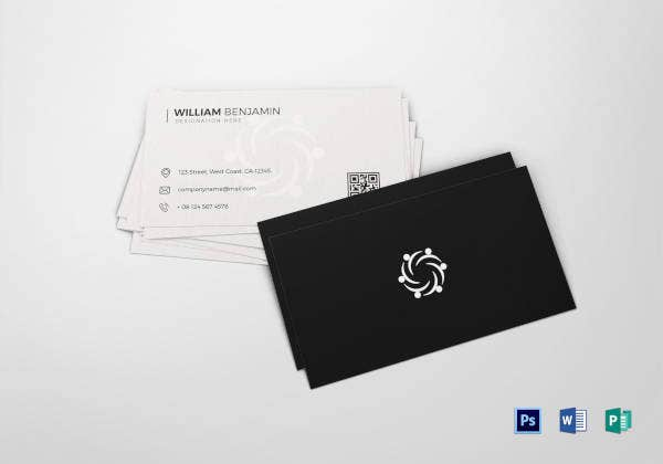 personal business card template - Personal Business Cards
