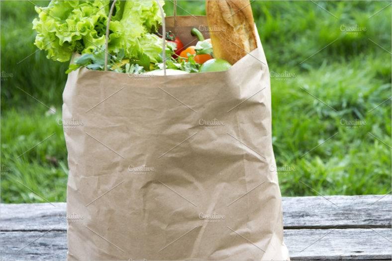 various-healthy-food-in-paper-bag