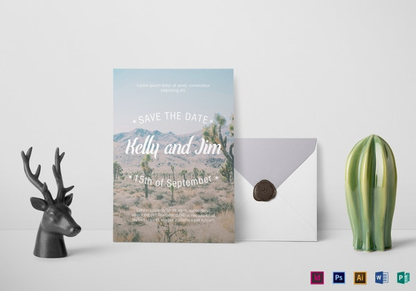 western-wedding-invitation-template