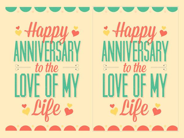 printable anniversary greeting card
