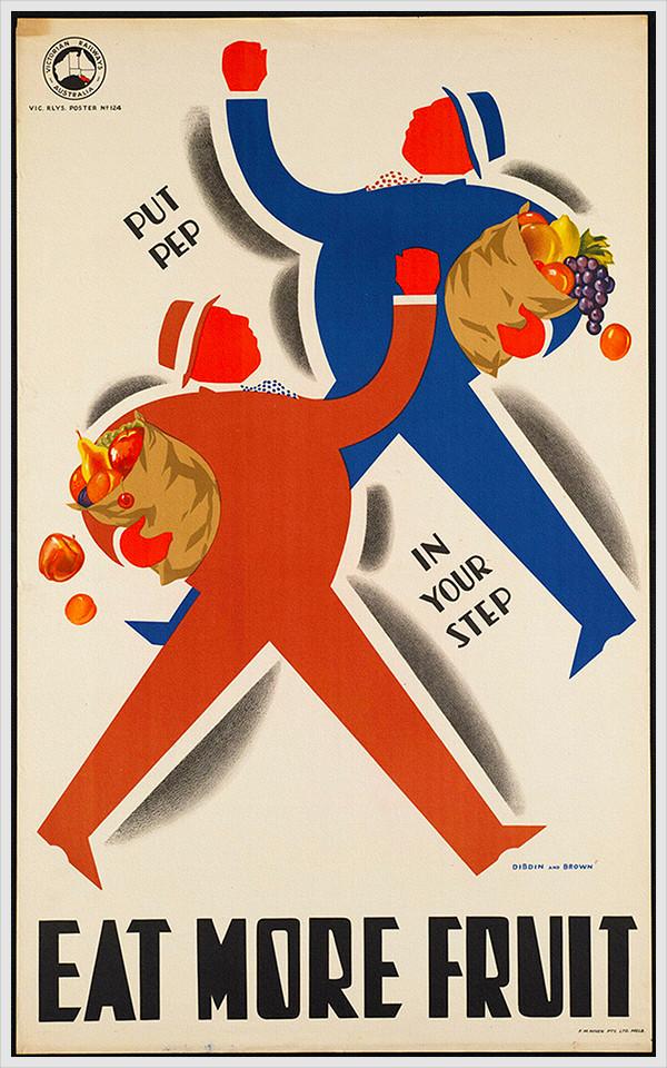 Food Vintage Poster