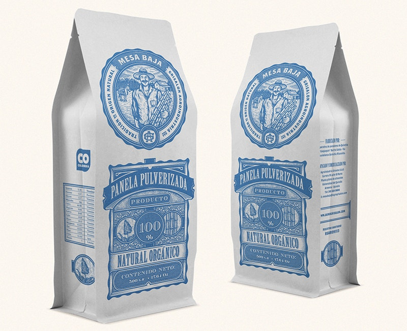 retro branding packaging design free