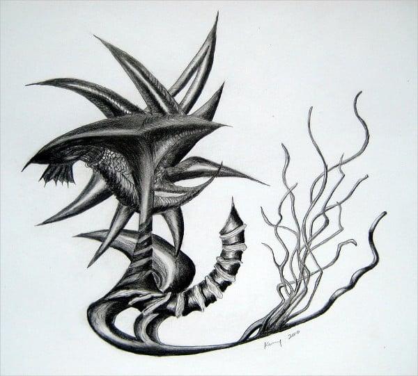 Neptune tattoo Drawing