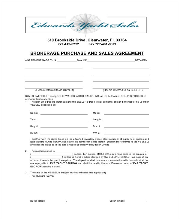 download bokerage purchase and sales agreement