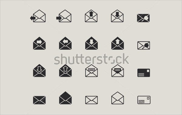 Envelope Web Mail Icon