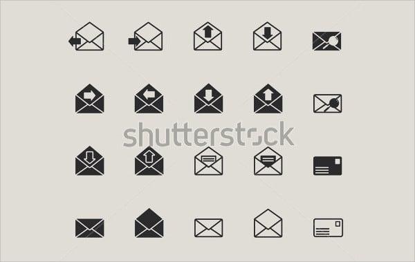 envelope web mail icon